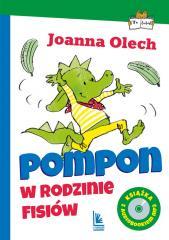Pompon w rodzinie Fisiów. z audiobookiem