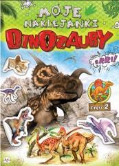 Moje naklejanki. Dinozaury cz. 2
