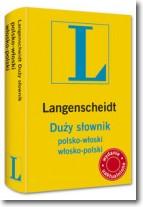 Słownik duży polsko włoski włosko polski