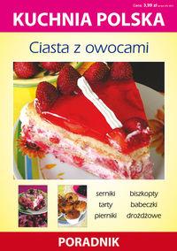 Kuchnia polska - Ciasta z owocami