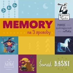 Memory na 3 sposoby.Świat baśni