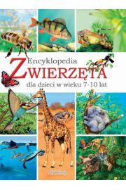 Zwierzęta Encyklopedia dla dzieci w wieku 7-10 lat