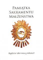 Pamiątka Sakramentu Małżeństwa