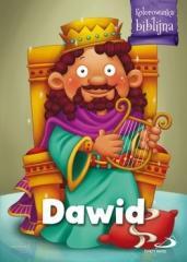 Kolorowanka biblijna Dawid