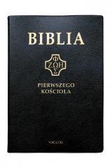 Biblia pierwszego Kościoła (czarna)