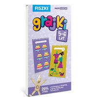 Fiszki. Grajki 5-6 lata