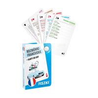 Rozmówki francuskie + karty do gry