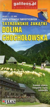 Mapa atrakcji tur. - Dolina Chochołowska