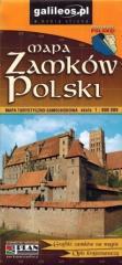 Mapa turystyczno-samoch. - Zamki Polski 1:900 000