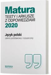 Matura 2020 J. polski Testy i arkusze ZPiR