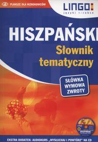 Hiszpański. Słownik tematyczny. Książka   CD