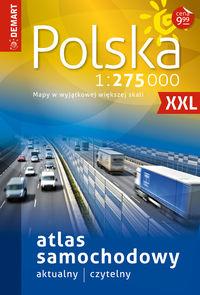 Atlas samochodowy Polski 1:275 000
