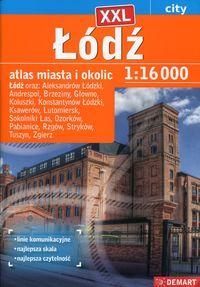 Atlas miasta Łódź plus XX 1:16000