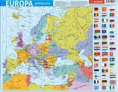 Puzzle ramkowe - Europa administracyjna