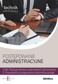 Technik.. Postępowanie administracyjne A.68.2