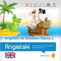 Angielski ze Smokiem Memo 2 (4-6 lat)