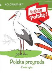 Kolorowanka. Polska przyroda- zwierzęta