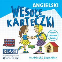 Angielski wesołe karteczki. Niebieski bestseller