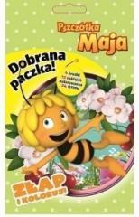 Dobrana Paczka. Złap i koloruj. Pszczółka Maja