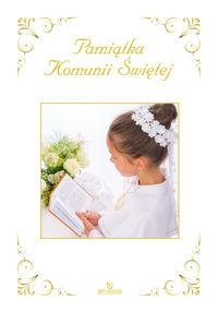 Pamiątka Komunii Świętej Dziewczynka