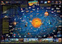 Mapa ścienna dla dzieci. Układ Słoneczny (listwa)