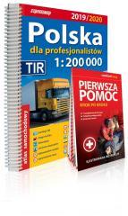 Polska dla profesjonalistów, 1:200 000 + instru...