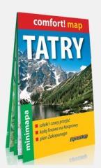 Comfort! map Tatry. Mapa turyst. 1:27 000 w.2019