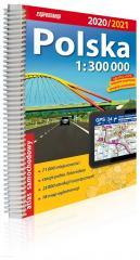 Atlas samochodowy Polska 1:300 000 2020/2021