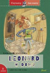 Czytamy bez mamy - Leonard w domu