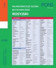 Najważniejsze słowa błyskawicznie - rosyjski PONS