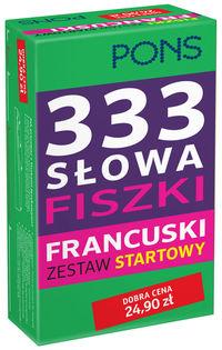 333 Słowa Fiszki. Francuski Zestaw startowy PONS