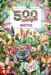 500 naklejek. Motyle