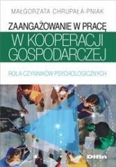 Zaangażowanie w pracę w kooperacji gospodarczej