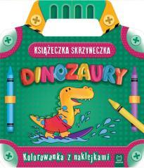Książeczka-skrzyneczka. Dinozaury