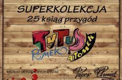 Tytus, Romek i A'Tomek kolekcja 25 ksiąg przygód