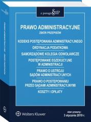 Prawo administracyjne Zbiór przepisów