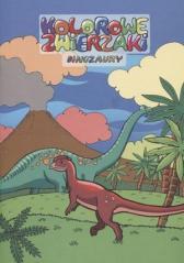 Kolorowe zwierzaki. Dinozaury