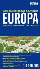 Europa 2018 mapa samochodowa 1:4 300 000