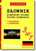 Słownik 3w1 niemiecko-polski, polsko-niemiecki