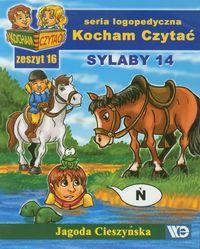Kocham czytać zeszyt 16. Sylaby 14
