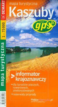 Mapa Turs. Kaszuby, Półwysep helski DEMART w.2016