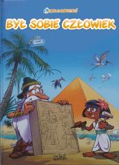 Komiks Był sobie człowiek.Żyzne doliny i Egipt+DVD