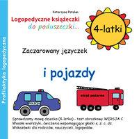 Zaczarowany języczek i pojazdy 4 latki