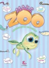 Kolorowanka małe ZOO. Zwierzęta morskie