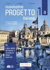 Progetto italiano Nuovissimo 1A podr.+ ćw.+CD