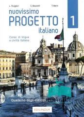 Progetto italiano Nuovissimo 1 ćw. + CD A1-A2