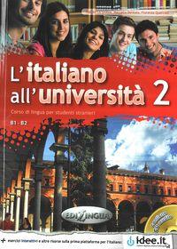 L'Italiano All'Universita 2 B1-B2 podr.+ ćw.+ CD